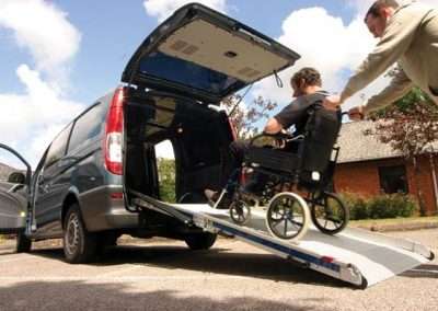 ניוד נכים בכיסא גלגלים